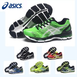Wholesale Men Cycling Wear Winter - Asics Nimbus17 Running Shoes For Men Shoes,New Color Wear-Resisting Breathable Discount Sneakers Sports Shoes Eur 36-45 Free Shipping