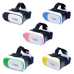 """Wholesale Vr Reality - WYJ Head Mount VR BOX Version VR Virtual Reality Glasses Rift Google Cardboard 3D Movie for 3.5"""" - 6.0"""" Smart Phone"""