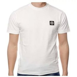 Wholesale Island Shirts - Free transmission Brand 2017 uk Embroidered Solid Cotton Men Short Sleeve Island Summer Wear Lapel POLO Shirt