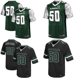 Wholesale Warriors Jersey Xl - Cheap NCAA Hawaii Warriors Mens Womens Kids High quality Jersey 100% stitched Custom Any Name Any No. Football College Jerseys