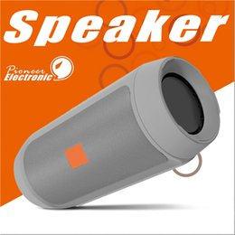 Wholesale Mini Metal Usb Mp3 - Bluetooth Speakers Subwoofer Speaker Wireless Bluetooth Mini Speaker Charge 2+ Deep Subwoofer Stereo Portable Speakers WITHOUT LOGO DHL
