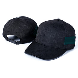 Wholesale White Snapbacks - snapbacks Brand design cap men women's designer summer baseball caps hat snap back adjustable