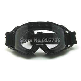 Wholesale Ski Helmet Glasses - 2016 Unisex motocross goggles Helmet anti-distortion dust-proof motorcycle goggles ski goggles windproof glasses sale