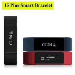 умный браслет i5 Скидка Excelvan I5 Plus Умный Браслет Bluetooth 4.0 Водонепроницаемый Сенсорный Экран Фитнес-Трекер Браслет Здоровья Сна Монитор Смарт-Часы OTH290