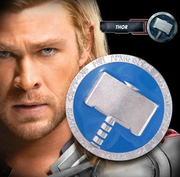Wholesale Avengers Pin - Hot sale high quality marvel the avengers surroundings Thor brooches Brooch pins for Unisex broches jewelry gifts