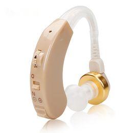 Wholesale Hear Machine - Free Shipping S-138 Analog BTE Hearing Aid Personal Deafness Hearing Aid Cheap Price Ear Machine Hearing Enhancing