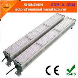 Argentina 50w 100w 150w 200w 250w 300w 300w 400w 500w IP66 impermeable LED colgante lineal 120lm / w bajo luz de la bahía llevó ligh5 lineal Suministro