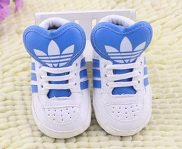 Wholesale spring baby shoes - Romirus hot sale baby moccasins PU Leather toddler first walker soft soled girls shoes Newborn 0-1 years baby boys Sneakers