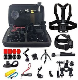 Wholesale Diving Kit - Extendable Handle Monopod 360 degree Rotary Clip action camera Accessory Kit for Hero4 Session SJ4000 in Camping Diving and Outdoor Sports