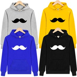 Wholesale Mustache Hoodie - Wholesale- Beard mustache spoof personality tide Children's Hoodies Sweatshirts 2015 Fashion Kids Boys Girls Hoody Sudaderas Ninos