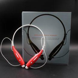 auricolare bluetooth samsung s5 Sconti HBS-730 HBS730 Tone + Wireless Sport Neckband Auricolare stereo Bluetooth Auricolare HBS 730 Cuffie per Iphone Samsung S5 LG EAR001