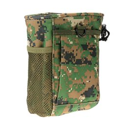 Wholesale Recreational Sports - 6 Colors Tactical Small Molle Bag Nylon Magazine Molle Pouch Holder Camouflage Tactical Recreational Sports Bag