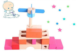 Wholesale Baby Tracking - Track creative boutique building blocks. Children's educational toys baby gifts