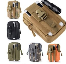 Wholesale Martial Arts Outfit - Universal Tactical Waist Belt Bag,Military Molle Pouch Phone Bags for Iphone 6S 7,Nylon Outdoor Climbing Bag Mountain Outfit
