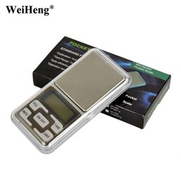 Wholesale Digital Balance Portable Kitchen - DHL 50PCS Portable mini pocket digital Jewelry Scales 200g 0.01g Precision Electronic weighing Balance Weight scale