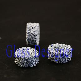Fumo Salute pietra schermo Schermo Fumante Fumare Schermo in ceramica Healty Pietra Per Smoking Bowl Mano Pipa DIA17.5 * 8 MM 25 PZ / LOTTO da