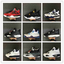 Wholesale toro bravo shoes - Wholesale with box 4 IV Royalty Toro Bravo Bred GS Hornets Oreo men basketball shoes women sports sneakers trainers 36-46