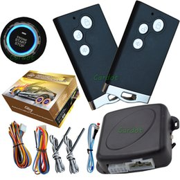 Wholesale Passive Keyless - car passive keyless entry&push start button system with mute arm or disarm service mode