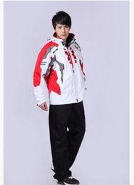 Wholesale Double Zipper Coat - Fall-Men coat authentic spider ski suit Waterproof windproof warmth professional men ski-wear, single and double board(only jacket )
