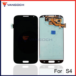Wholesale I545 Screen - Original Quality for Samsung Galaxy S4 i9500 i9505 I545 I337 LCD Display Touch Screen Digitizer Assembly Repair Replacement