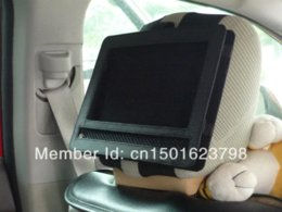 Wholesale Headrest Dvd Player For Cars - Car Headrest Mount Holder for Swivel and Flip Style 7 Inch Portable DVD Players Black Safe for Travel