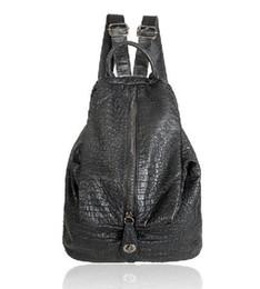 quasten-eimer tasche blau Rabatt hochwertige unisex rucksack aus echtem leder wasserdichte doppelte umhängetasche mode in 2017 schwarz farbe