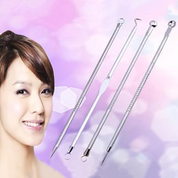 Wholesale head removal tool - 1Set Acne Removal Needle Pimple Needle Blackhead Remover Acne Treatment Acne Needle Face Black Head Extractor Remover Tools