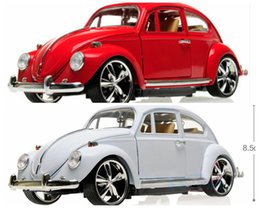 Wholesale Beetles Collection - Diecast Modell Car For Beetle Alloy Car Toys Car Retro classic cars Collection (3 colors) Wholesale and Retail