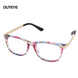 Wholesale Wholesale Geek Eyeglass Frames - Wholesale-9 Color Hot optical myopia glasses clear lens eyewear nerd geek glasses frame brand sun shade eyeglasses frames for men women W1