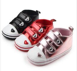 Wholesale Korean Kids Shoes Wholesale - Wholesale Love Princess toddler shoes!11 12 13 cm baby shoes,non-slip cheap kids shoes,Korean soft girls single shoes.12pairs 24pcs.ZH