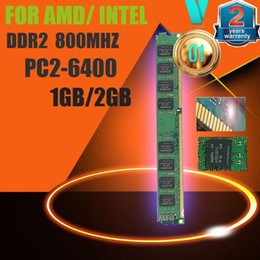 Wholesale Ddr2 Desktop 667mhz 2gb - Original 1GB 2GB DDR2 800 ram in memory compatible with DDR2 667MHz   533MHz memeoy ram DDR2 desktop in memory