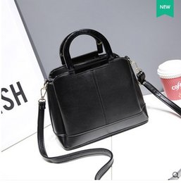 Wholesale Motorcycle Top Bags - 2016 Dark Grey Top Fashion Bags Pink Black Beige Silver New Trend Edition Small Bag Handbag Lady Simple Satchel. Inclined Bag. Casual Bags.