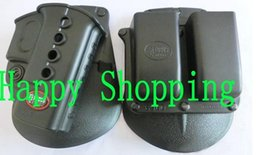Wholesale Glock 19 Magazine - Evolution gun Holster RH Paddle GL-2 ND For Glock 17 19 22 23 27 31 32 34 35 6900RP Double Mag Pouch Glock