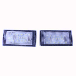 Wholesale E46 License Plate - Free Error LED License Plate Light for BMW E46 323 325 330 M3 Coupe 2-Door