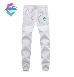 calças de golfinho rosa Desconto Marca de moda Mens Esportes Corredores Harem Pants Plus Size M-3XL Jogging 2016 Homens Casuais Meninos Basculador Calça Rosa Dolphin calças