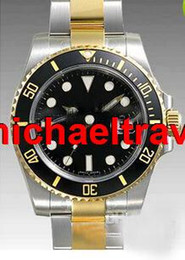 Wholesale Dive Quality - High QUALITY CERAMIC Bezel NEW Luxury watch Automatic Movement Men's Stainless Steel Date wristwatch dive mens watches