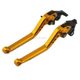 Wholesale Brake Levers - 2pcs CNC Long&Short Adjuster Brake Clutch Levers For FZ6 FZ6R FZ8 MT-07 MT-09 SR FZ9 FZ1 XJ6DIVERSION