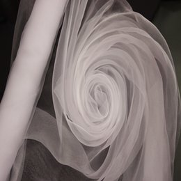 Wholesale Organza Wedding Background Decoration - Big Sale!!! High Quality White Organze- WHITE ORGANZA For Background Of Wedding Decoration,1.5 M x110 Meters Roll, Factory Price
