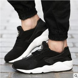Wholesale Pointed Leather Shoes Men - 2017 Air Running Shoes Huaraches For Men Sneakers Zapatillas Deportivas Sport Shoes Zapatos Hombre Mens Trainers Huarache