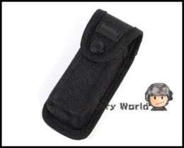Wholesale Ultrafire Flashlight Pouch Holster - UltraFire Brand 13cm Nylon Tactical Outdoor Camping Flashlight Holster Pouch Torch Case Flashlight Pouch Cover
