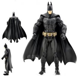 Wholesale Batman Dark Knight Figure - The Dark Knight Movie Batman Superhero action figure Toy Collection superhero figures robot Kids classic toys