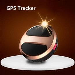Wholesale Gps Tracking Mini Personal - Mini Personal T8 Tracker Portable Car Tracker GPS GSM GPRS Real Time Tracking Device Tracker Waterproof Anti-Lost Alarm
