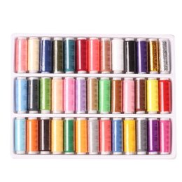 Wholesale Threads Set For Sewing - 1Set of 39-colors402 Fine Sewing Thread for Hand Sewing Industrial Machine,Sets Thread,Filo Per Macchina Cucire,Colorful Threads order<$18no