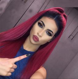 2019 produits pour cheveux reine 3pcs Rainbow Queen Hair Products Bundles brésiliens d'armure de cheveux 99J Red Straight Extensions d'armure de cheveux humains 3 PCS 4 Pcs Lot Red Redresseur promotion produits pour cheveux reine 3pcs