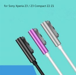 Wholesale Xperia Z1 Magnetic - Metal Magnetic Charging USB Cable Charger with LED Indicator For Sony Xperia Z3 Z2 Z1 Cheap cable pattern