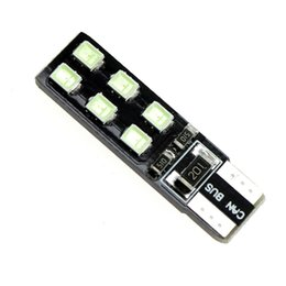 Wholesale Mark Side - T10 WARM WHITE BLUE PINK 12-2835 SMD LED CANBUS OBC ERRO FREE XENON DC 12V CAR DOME READING SIDE MARK DOOR LIGHTS BULBS
