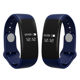 Wholesale Good Quality Smart Bluetooth Heart Rate Monitor waterproof bracelet Sleep Fitness Tracker Anti lost reminder smartband
