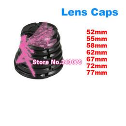 Wholesale Lens Cap 49 - Camera Lens Cap Protection Cover 49 52 55 58 62 67 72 77 82mm lens Accessories