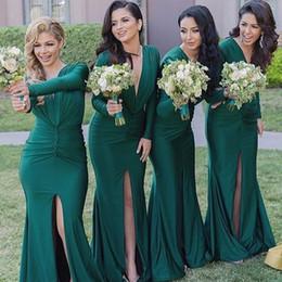 Vestidos de fiesta color verde bandera