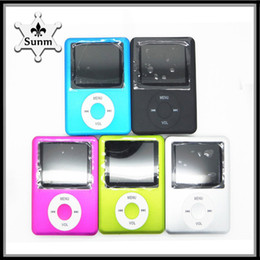 Wholesale Mp3 Mp4 Card Reader - Ultra-High Quality MP3 MP4 Multi Media Video Player Music Player LCD Screen Support without TF card With headphones hbq i7 770001